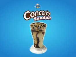 Concerto Sundae Chocolate