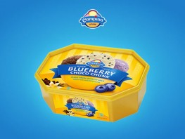 Campina - Blueberry Choco Chunk 700 ml