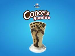 Concerto Sundae White Coffee