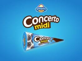 Concerto Midi - Cookie Creamy