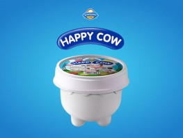 Happy Cow - Cup Vanilla